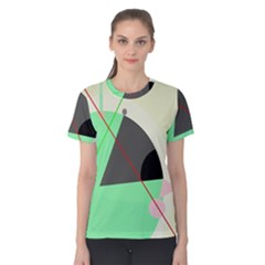 Decorative abstract design Women s Cotton Tee