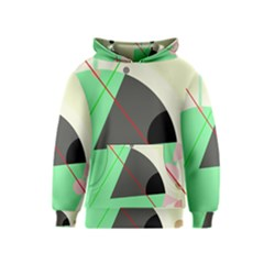 Decorative abstract design Kids  Pullover Hoodie