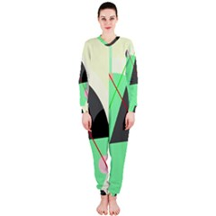Decorative abstract design OnePiece Jumpsuit (Ladies)