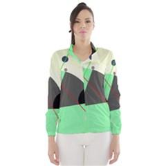 Decorative abstract design Wind Breaker (Women)