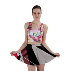Artistic abstraction Mini Skirt