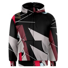 Artistic abstraction Men s Zipper Hoodie
