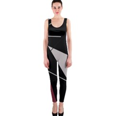 Artistic abstraction OnePiece Catsuit