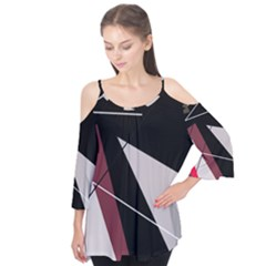 Artistic abstraction Flutter Tees