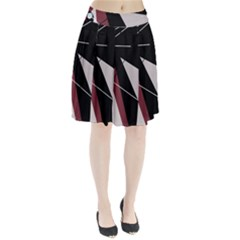 Artistic abstraction Pleated Skirt