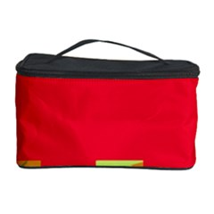 Red abstraction Cosmetic Storage Case