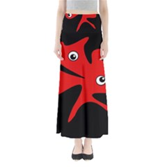 Red Amoeba Maxi Skirts
