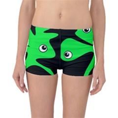 Green amoeba Boyleg Bikini Bottoms