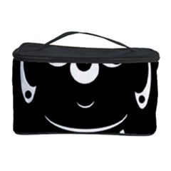 Black and white voodoo man Cosmetic Storage Case