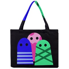 Three monsters Mini Tote Bag
