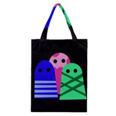 Three monsters Classic Tote Bag