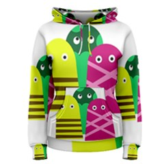 Three mosters Women s Pullover Hoodie