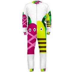 Three mosters OnePiece Jumpsuit (Men)