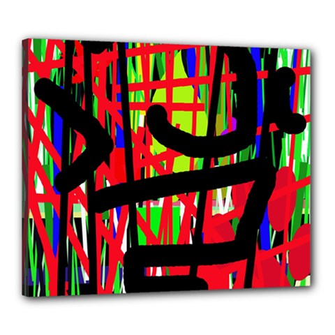 Colorful abstraction Canvas 24  x 20