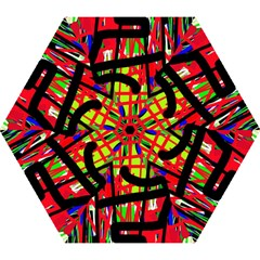 Colorful abstraction Mini Folding Umbrellas