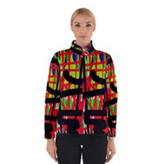 Colorful abstraction Winterwear