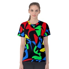 Colorful abstraction Women s Cotton Tee