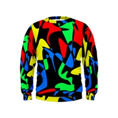 Colorful abstraction Kids  Sweatshirt