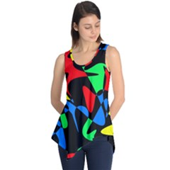 Colorful abstraction Sleeveless Tunic