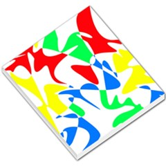 Colorful abstraction Small Memo Pads