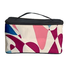 Blue, pink and purple pattern Cosmetic Storage Case