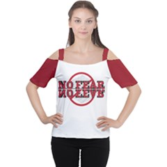 No Fear Women s Cutout Shoulder Tee