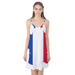 Flag Map Of France Camis Nightgown