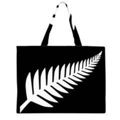 New Zealand Silver Fern Flag Large Tote Bag