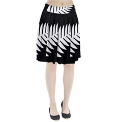 New Zealand Silver Fern Flag Pleated Skirt