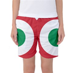 Roundel Of The Italian Air Force, 1911 1946 Women s Basketball Shorts