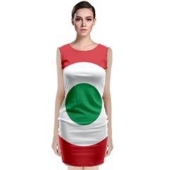 Roundel Of The Italian Air Force, 1911 1946 Classic Sleeveless Midi Dress