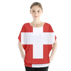 Coat Of Arms Of Switzerland Blouse