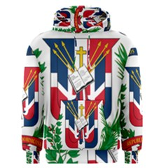 Coat Of Arms Of The Dominican Republic Men s Pullover Hoodie