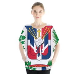 Coat Of Arms Of The Dominican Republic Blouse