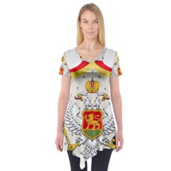 Coat Of Arms Of Kingdom Of Montenegro, 1910 1918 Short Sleeve Tunic