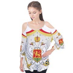 Coat Of Arms Of Kingdom Of Montenegro, 1910 1918 Flutter Tees