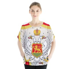 Coat Of Arms Of Kingdom Of Montenegro, 1910 1918 Blouse