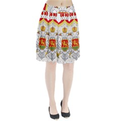 Coat Of Arms Of Kingdom Of Montenegro, 1910 1918 Pleated Skirt