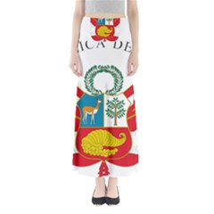 Great Seal Of Peru  Maxi Skirts