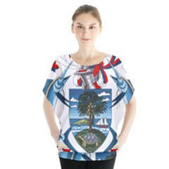 Coat Of Arms Of The Seychelles Blouse