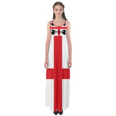 Traditional Flag Of Sardinia  Empire Waist Maxi Dress