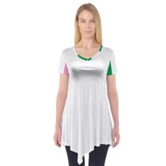 Newfoundland Tricolour Short Sleeve Tunic