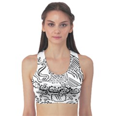 National Seal Of Mexico Sports Bra