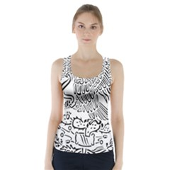 National Seal Of Mexico Racer Back Sports Top