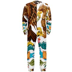 Coat Of Arms Of Mexico  OnePiece Jumpsuit (Men)