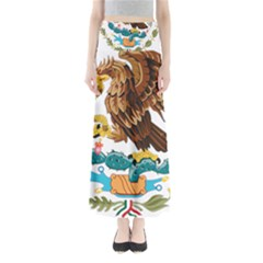 Coat Of Arms Of Mexico  Maxi Skirts