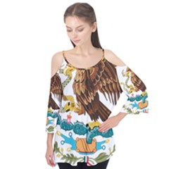 Coat Of Arms Of Mexico  Flutter Tees