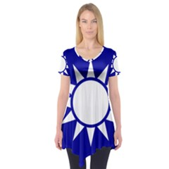 Taiwan National Emblem  Short Sleeve Tunic