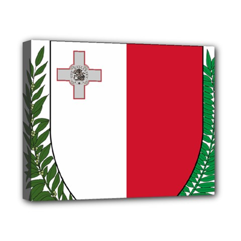 Coat Of Arms Of Malta  Canvas 10  x 8