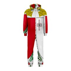 Coat Of Arms Of Malta  Hooded Jumpsuit (Kids)